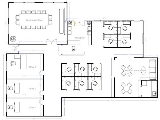 for Office space floor plan creator
