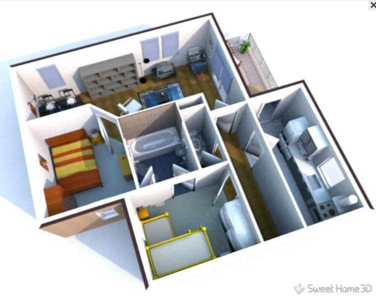 for Easy 3d home design software free