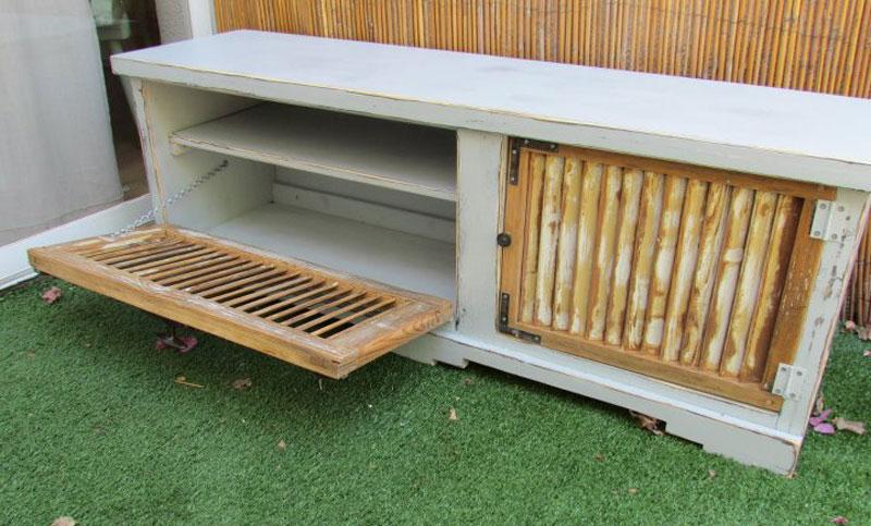 מבריק השראה: איך משלבים תריסי עץ ישנים בעיצוב מודרני?   בניין ודיור ZJ-63