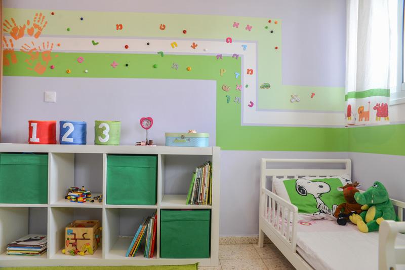מיוחדים לפני ואחרי: חידוש חדר ילדים באמצעות צבע בלבד | בניין ודיור IG-48