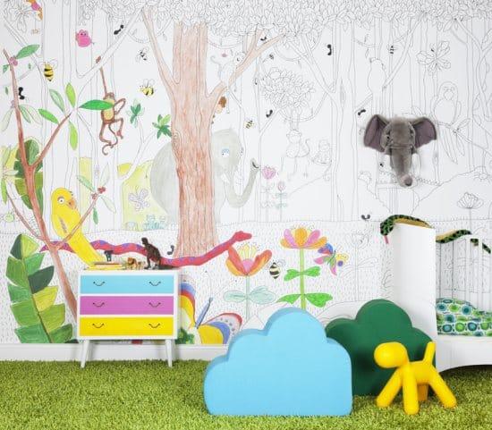 for Unique childrens wallpaper