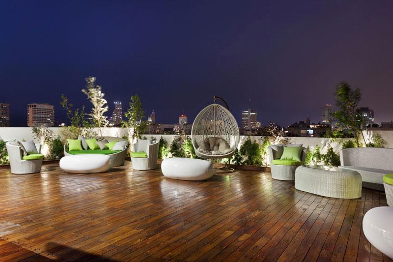 מלון שנקין אירוח תל אביבי מעוצב בניין ודיור