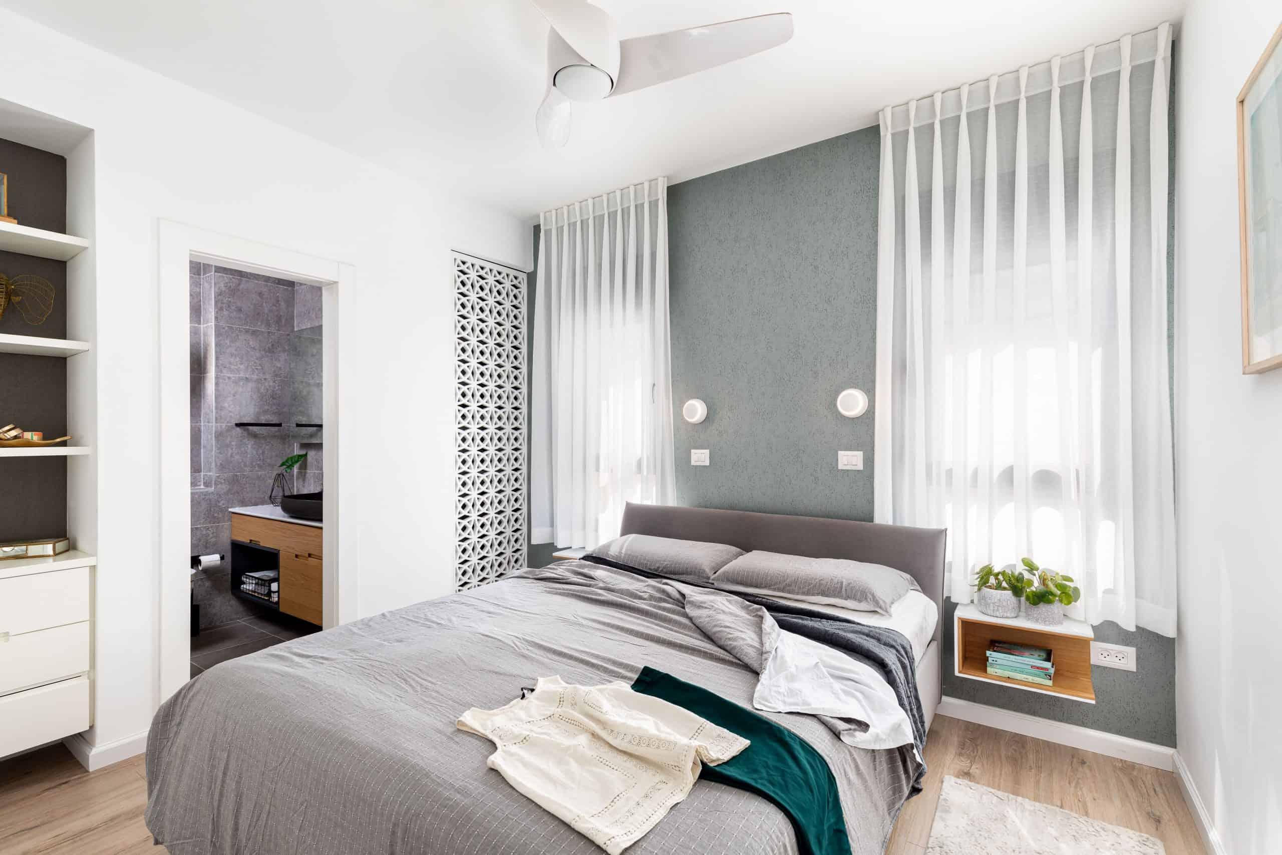 חדר שינה מיטה משרביה