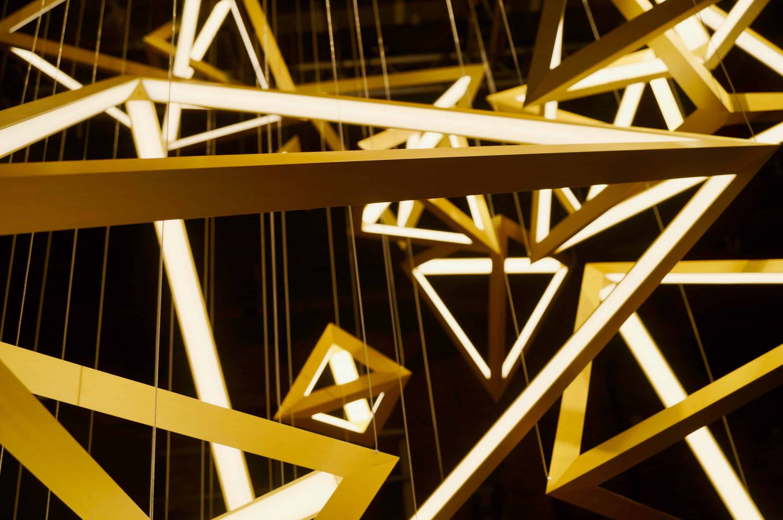מנורת זהב