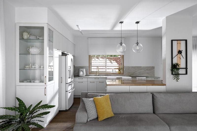 סלון ומטבח