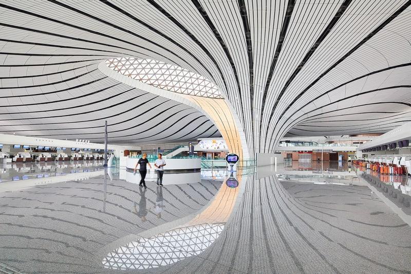 שדה התעופה בבייג'ינג. זאהה חדיד