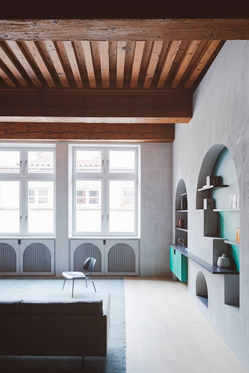 עיצוב עכשווי לדירה עתיקה