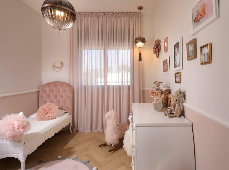 חדר שינה לילדה