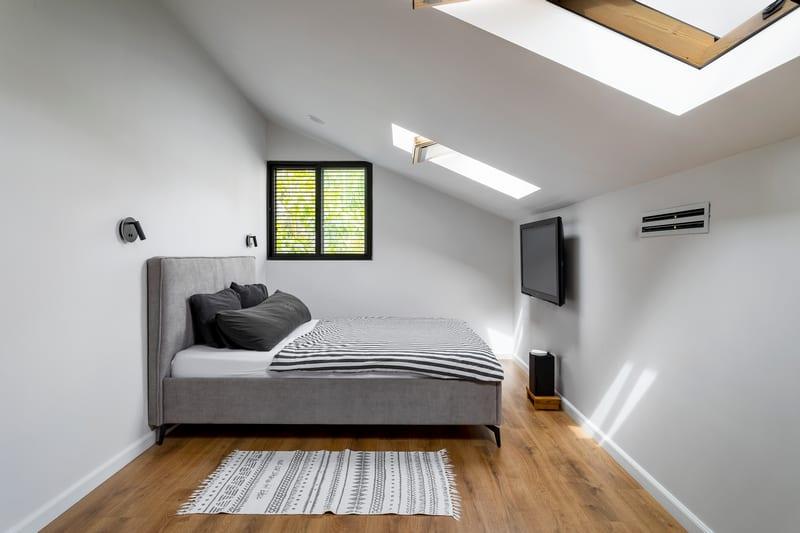 חדר שינה במרתף