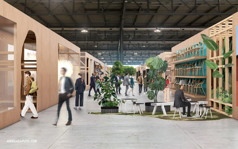 אירוע העיצוב במילאנו