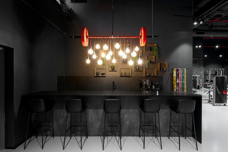 עיצוב חדר כושר אורבני