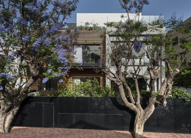 חזית בית מודרני